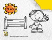 OL013 Nellie Snellen Stempel Fence