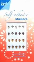 60220015 Joy Adh.Stickers Goud/ Zilver