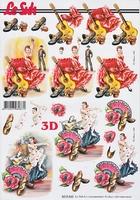 8215542 LeSuh Flamenco Dans