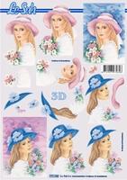 777152 LeSuh Meisje met hoed