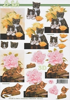 777357 LeSuh Bloemen/Kittens