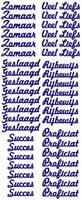 ST021G Sticker Liefs/Geslaagd/Rijbewijs/Succes Goud