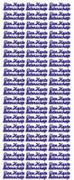 ST168G Sticker Van harte beterschap  Goud
