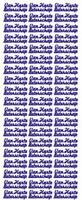 ST168Z Sticker Van harte beterschap - Zilver