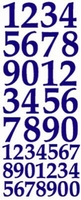 ST169GR Sticker Cijfers  Groen