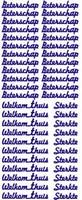 ST016G Sticker Beterschap Goud