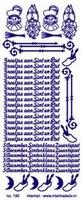 ST192 Sticker Sintnicolaas - Goud