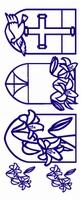 ST195G Sticker Religie Goud