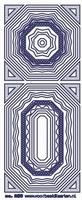 ST260TZ Stickers Transparant kaders Zilver
