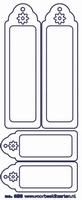 ST263TG Sticker Transparant Kader Goud
