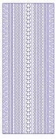 ST3028G Sticker Randen Goud