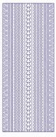 ST3028BL Sticker Randen Blauw