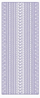 ST3028GR Sticker Randen Groen/goud