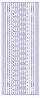 ST3029G Sticker Randen Goud
