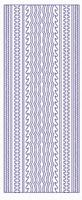 ST3029Z Sticker Randen Zilver