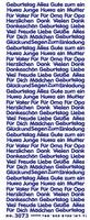 ST3073G Sticker Geburtstag Goud