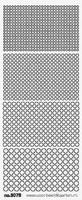 ST3076GL Stickers Rondjes  Geel