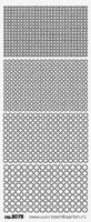 ST3076ZW Stickers Rondjes  Zwart