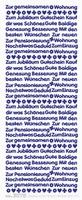 ST3075Z Sticker Neue Wohunug  Zilver